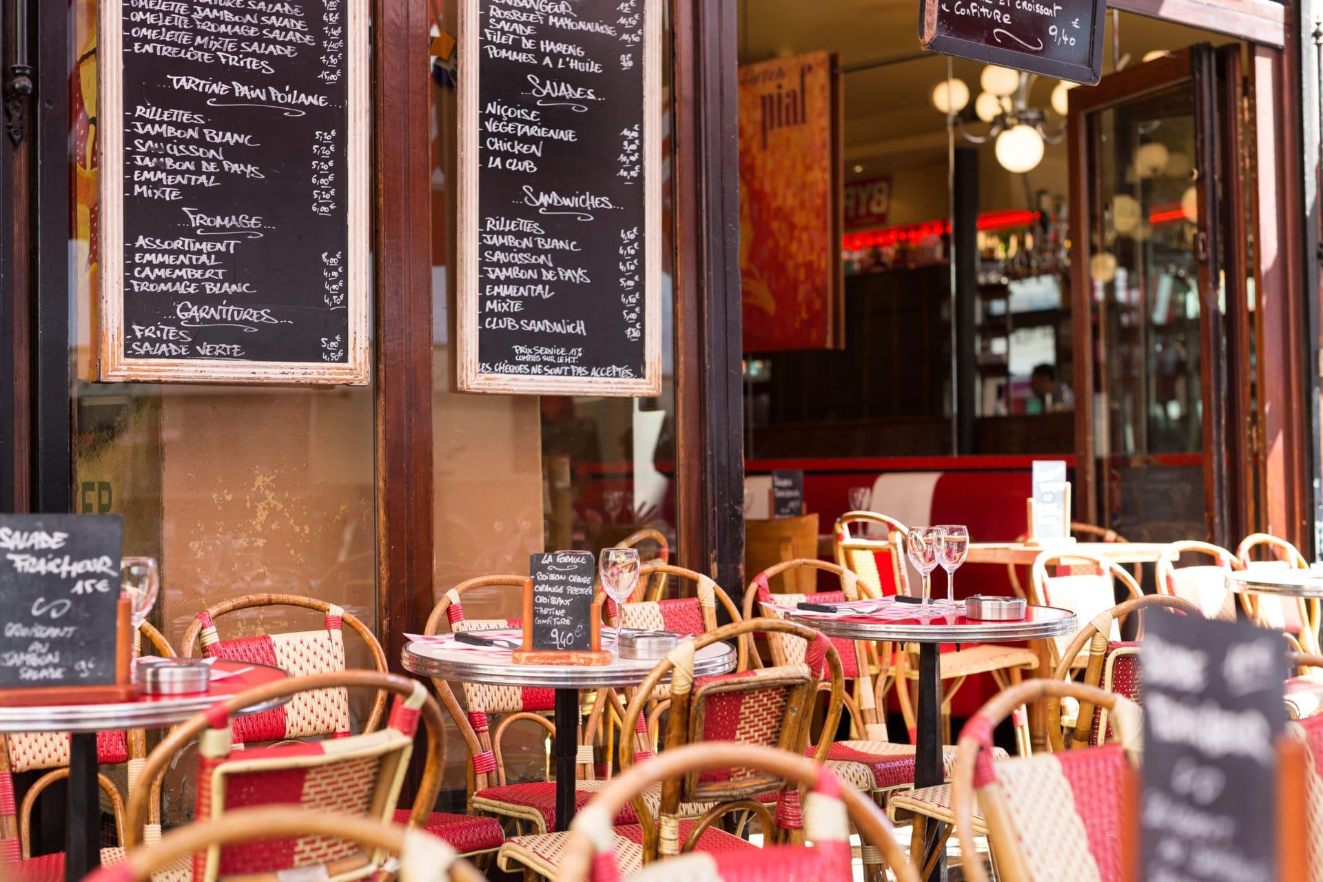 decoración en restaurantes